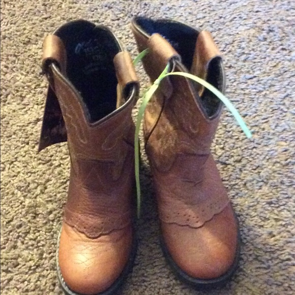 NEW NWOT Toddler Girls Cowboy Boots Size 8 or 9 Western Fashion
